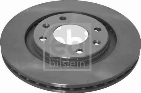Febi Bilstein 10321 - Bremžu diski interparts.lv