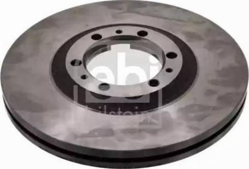 Febi Bilstein 10746 - Bremžu diski interparts.lv