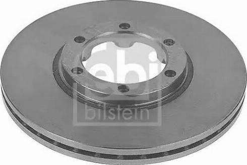 Febi Bilstein 10750 - Bremžu diski interparts.lv