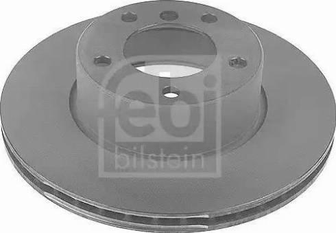 Febi Bilstein 10753 - Bremžu diski interparts.lv