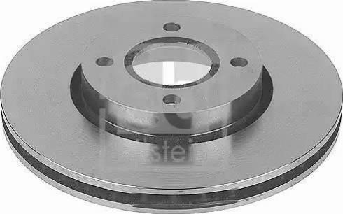 Febi Bilstein 10706 - Bremžu diski interparts.lv