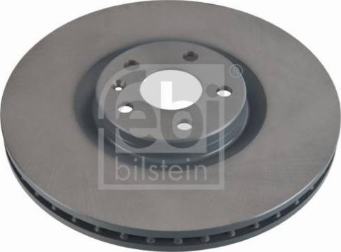 Febi Bilstein 107725 - Bremžu diski interparts.lv