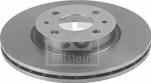 Febi Bilstein 12133 - Bremžu diski interparts.lv