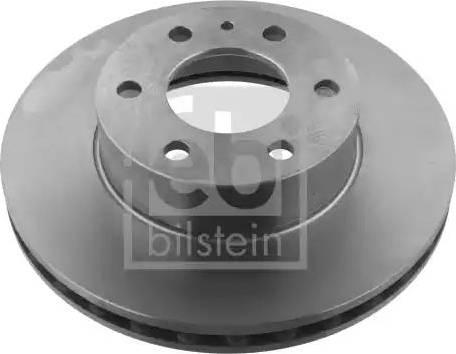Febi Bilstein 35337 - Bremžu diski interparts.lv