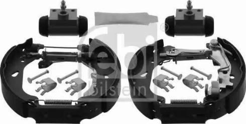 Febi Bilstein 38744 - Bremžu komplekts, trumuļa bremzes interparts.lv