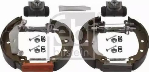 Febi Bilstein 37511 - Bremžu komplekts, trumuļa bremzes interparts.lv