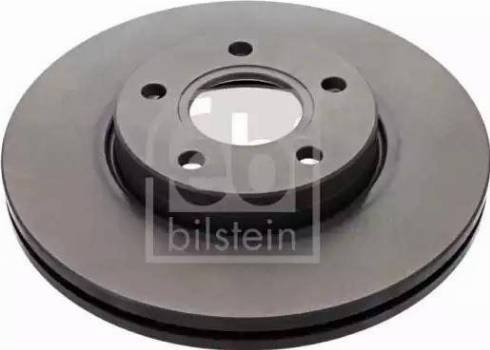 Febi Bilstein 24565 - Bremžu diski interparts.lv