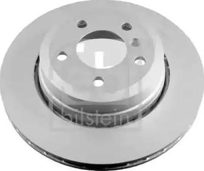 Febi Bilstein 24809 - Bremžu diski interparts.lv