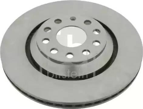 Febi Bilstein 24386 - Bremžu diski interparts.lv