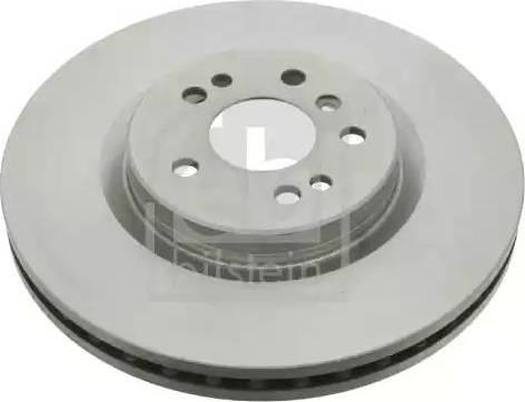 Febi Bilstein 24743 - Bremžu diski interparts.lv
