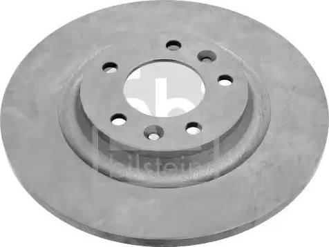 Febi Bilstein 26037 - Bremžu diski interparts.lv
