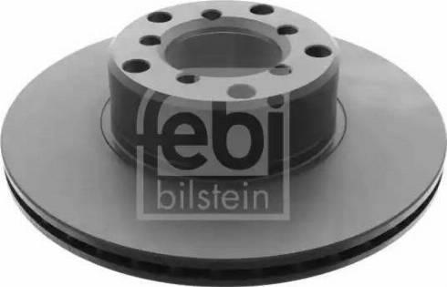 Febi Bilstein 26199 - Bremžu diski interparts.lv