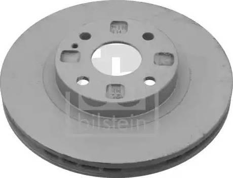 Febi Bilstein 23441 - Bremžu diski interparts.lv