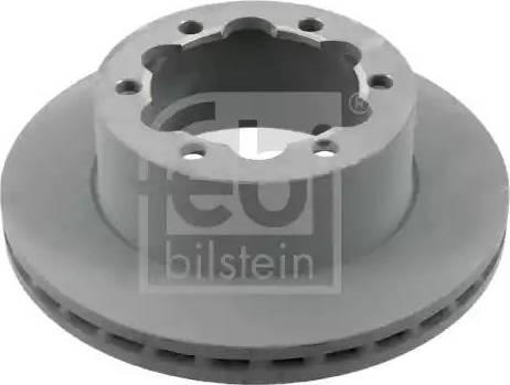 Febi Bilstein 27700 - Bremžu diski interparts.lv