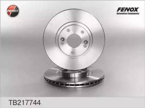 Fenox TB217744 - Bremžu diski interparts.lv
