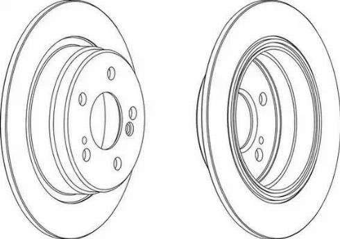 A.B.S. 16108 - Bremžu diski interparts.lv