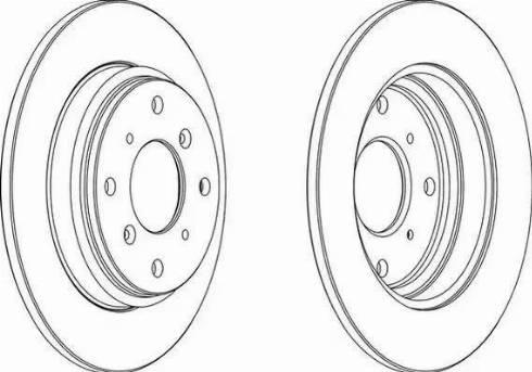 A.B.S. 16206 - Bremžu diski interparts.lv