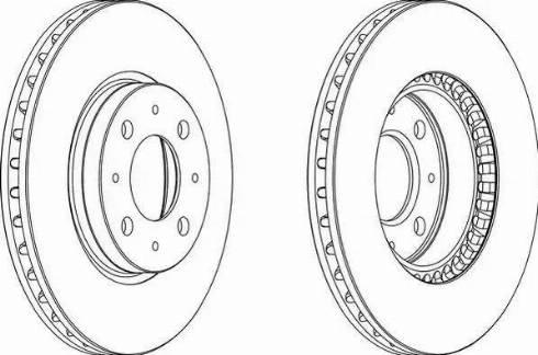 Metelli 23-0373C - Bremžu diski interparts.lv