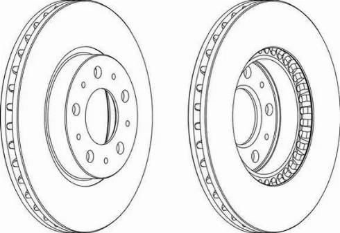 FREMAX BD-1788 - Bremžu diski interparts.lv