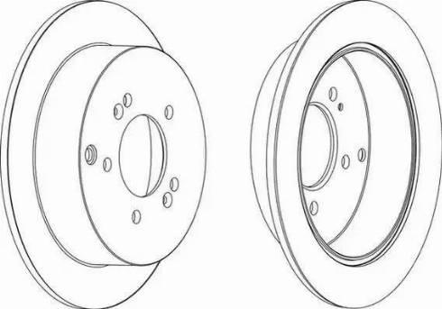 FREMAX BD-2907 - Bremžu diski interparts.lv
