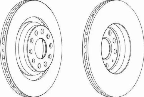 FREMAX BD-4082 - Bremžu diski interparts.lv