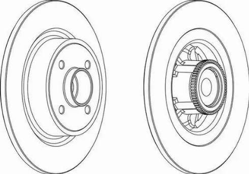 A.B.S. 17029C - Bremžu diski interparts.lv