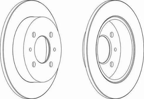 A.B.S. 16476 - Bremžu diski interparts.lv