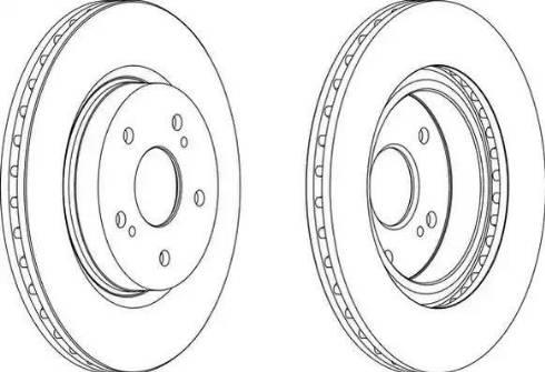 FREMAX BD-4803 - Bremžu diski interparts.lv
