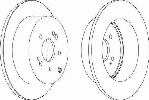 FREMAX BD-5110 - Bremžu diski interparts.lv
