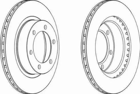 FREMAX BD-5210 - Bremžu diski interparts.lv