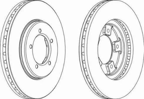 Brake Engineering DI955944 - Bremžu diski interparts.lv