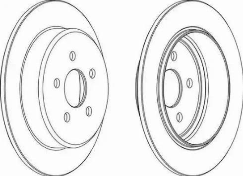 A.B.S. 16724 - Bremžu diski interparts.lv