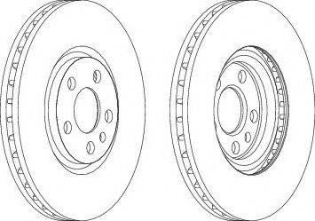 FREMAX BD-4678 - Bremžu diski interparts.lv