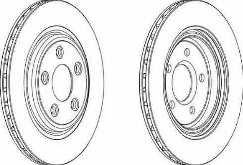 FREMAX BD-4089 - Bremžu diski interparts.lv
