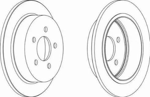 A.B.S. 16557 - Bremžu diski interparts.lv