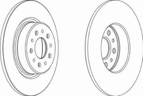 FREMAX BD-2702 - Bremžu diski interparts.lv