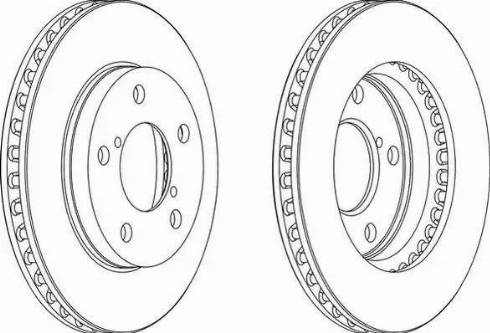A.B.S. 16895 - Bremžu diski interparts.lv