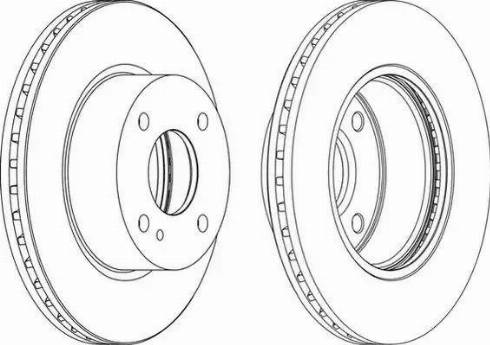 FREMAX BD-5636 - Bremžu diski interparts.lv