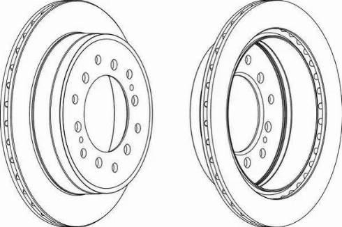 FREMAX BD-2917 - Bremžu diski interparts.lv