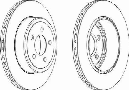 FREMAX BD-9199 - Bremžu diski interparts.lv