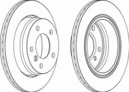 FREMAX BD-2315 - Bremžu diski interparts.lv