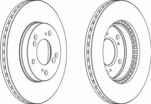 FREMAX BD-2586 - Bremžu diski interparts.lv