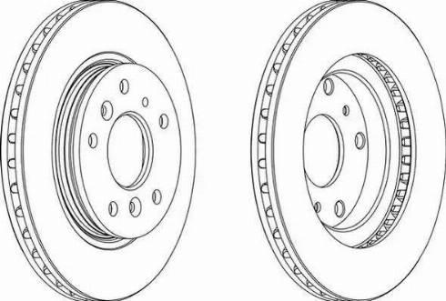 A.B.S. 15950 - Bremžu diski interparts.lv
