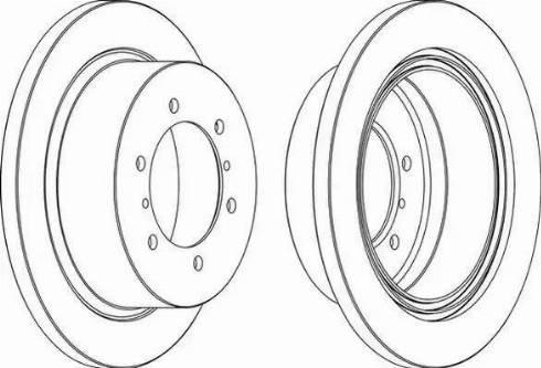 FREMAX BD-8797 - Bremžu diski interparts.lv
