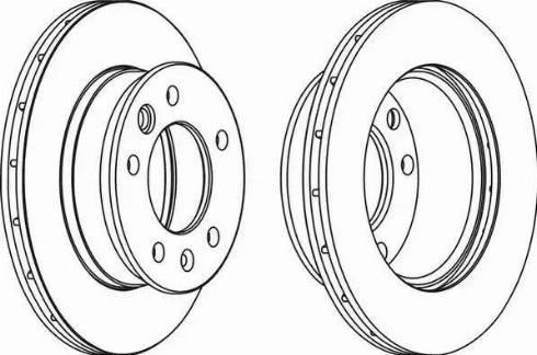 FREMAX BD-0181 - Bremžu diski interparts.lv