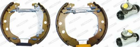 Ferodo FMK269 - Bremžu komplekts, trumuļa bremzes interparts.lv