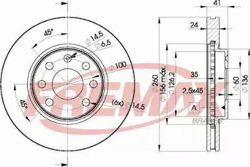 FREMAX BD-9000 - Bremžu diski interparts.lv