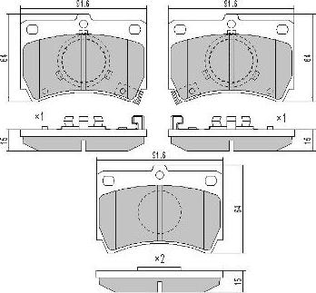 FREMAX BD-1564 - Bremžu diski interparts.lv