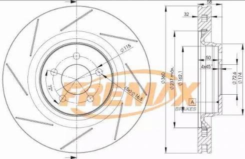 FREMAX BD-3063 - Bremžu diski interparts.lv