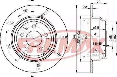 FREMAX BD-7940 - Bremžu diski interparts.lv